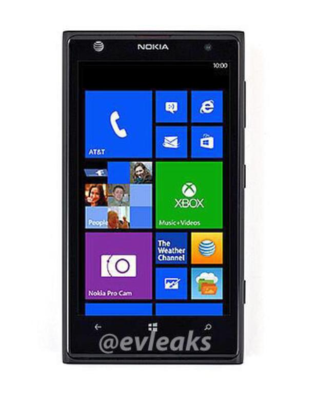 Alleged press shot of the Nokia Lumia 1020