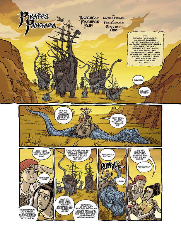 'Pirates of  Pangaea' preview