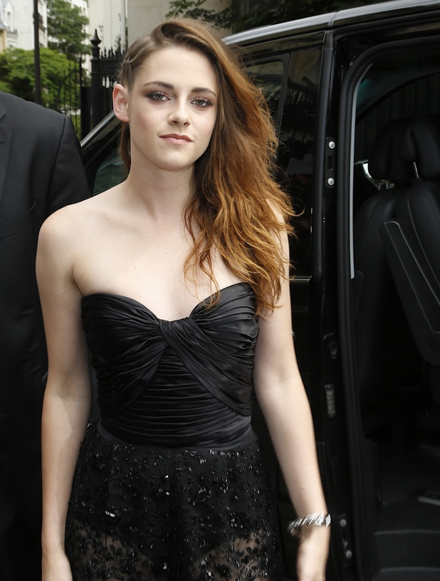 Kristen Stewart, Paris Fashion Week Haute Couture Fall/Winter 2014 - Zuhair Murad -