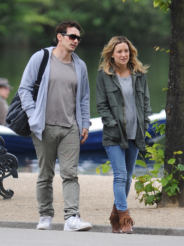 James Franco and Kate Hudson