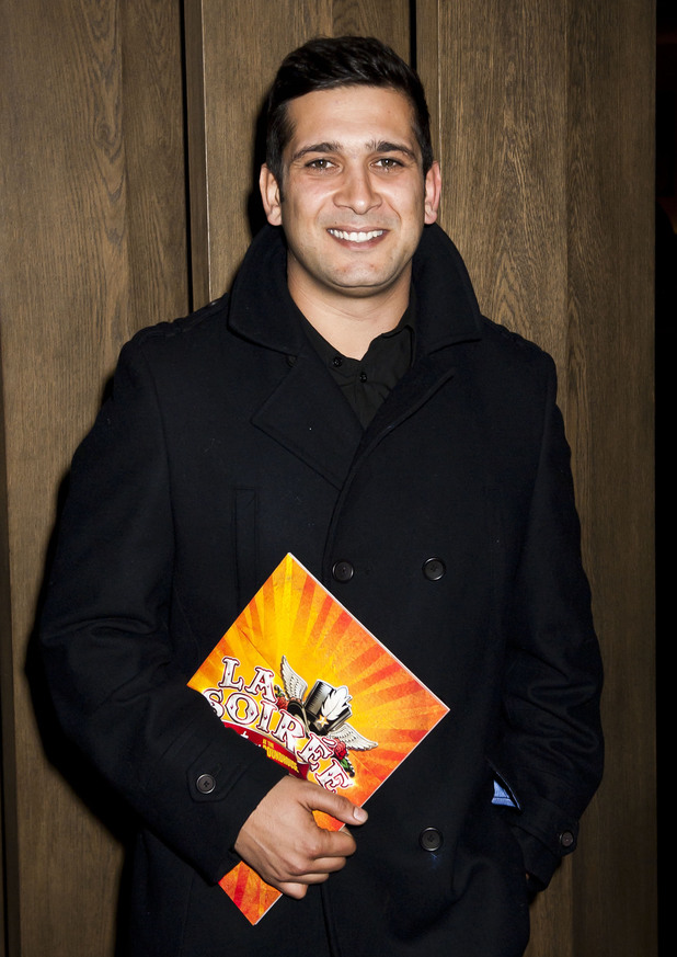 Jimi Mistry attends the opening night of La Soiree, at the Roundhouse, Camden, London