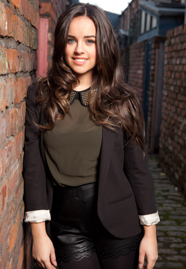 Georgia May Foote as Katy Armstrong in Coronation Street