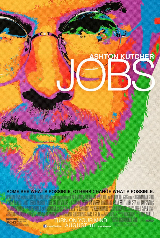 Ashton Kutcher in new 'jOBS' poster