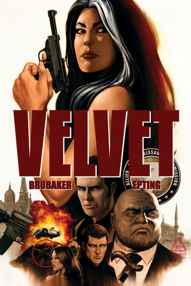 'Velvet' #1 cover artwork
