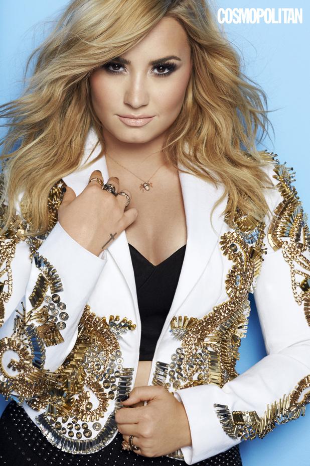 Demi Lovato Cosmopolitan shoot