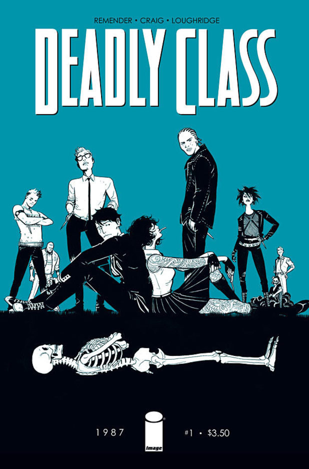 'Deadly Class' cover artwork