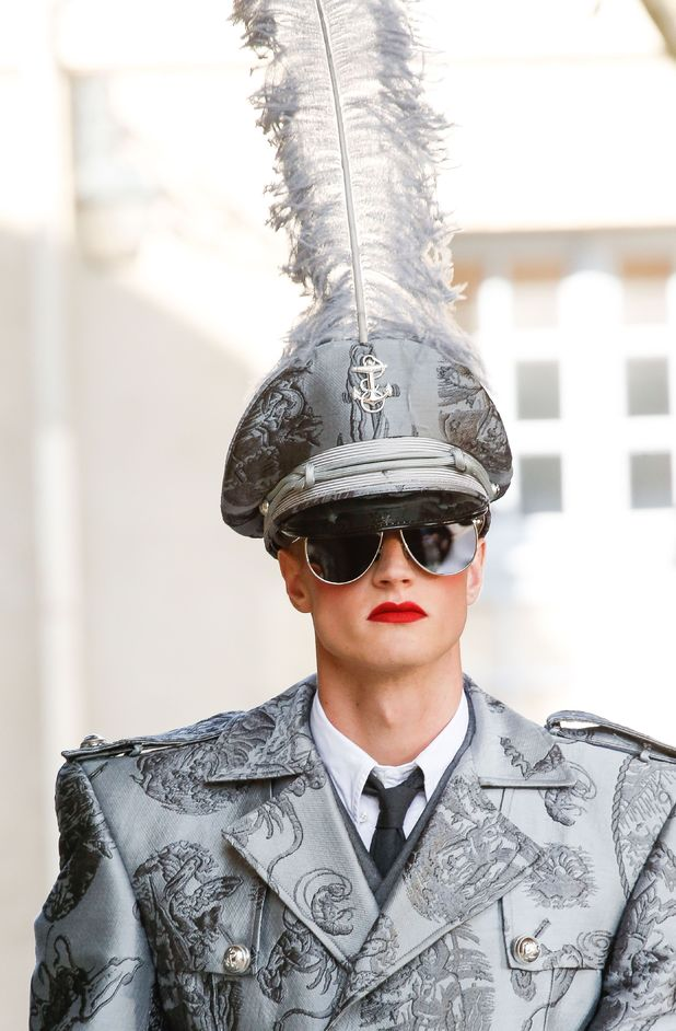 Thom Browne show, Spring Summer 2014, Paris Fashion Week, France - 30 Jun 2013