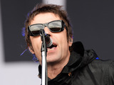 Liam Gallagher of Beady Eye performs at day 2 of the 2013 Glastonbury Festival at Worthy Farm on June 28, 2013