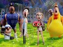 Animated sequel debuts in first place with £3.6 million in ticket sales.