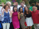 The cast of the 1996 family comedy gather at an outdoor reunion over the weekend.