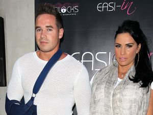 Katie Price and Kieran Hayler at the Easilocks event, London