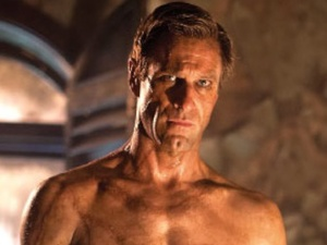 A preview of Aaron Eckhart in 'I, Frankenstein'