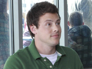 Corey Monteith as Finn in 'Glee'
