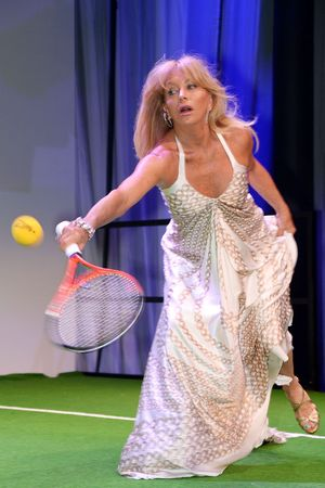 Goldie Hawn, Novak Djokovic Foundation Gala Dinner, London