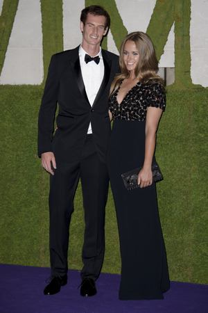 Andy Murray, Kim Sears, Wimbledon Champions Dinner, InterContinental Hotel,
