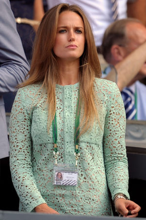 Kim Sears at the Wimbledon Men's Final