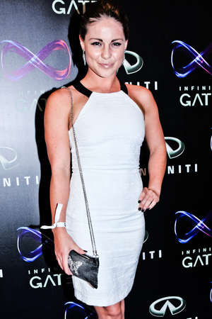 Louise Thompson from 'Made in Chelsea' at the Infiniti Gate Experience