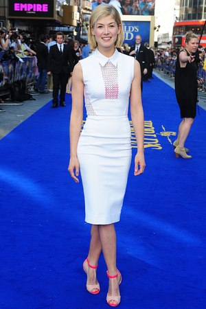 Rosamund Pike arriving for the world premiere of The World's End, at the Empire Leicester Square, London.