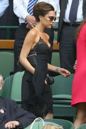 Victoria Beckham at the Wimbledon Men's Final