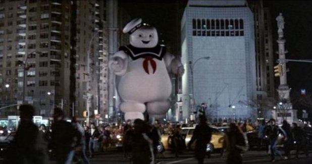 The Marshmallow Man in 'Ghostbusters' (1984)