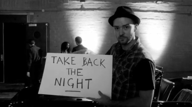 Justin Timberlake teases 'Take Back the Night'