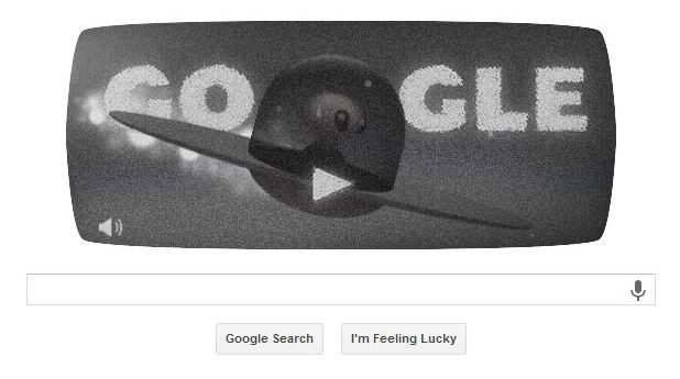 Google Doodle marking Roswell anniversary