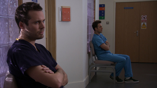 Holby City's Oliver in his final episode