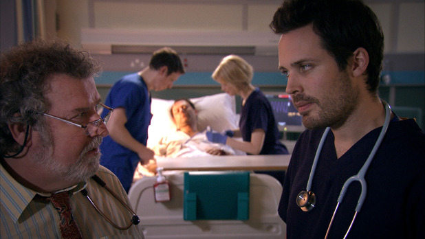 Holby City's Oliver and Elliot