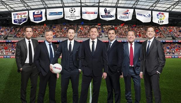 Sky Sports Football 2013-14 team