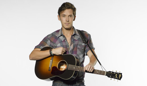 Sam Palladio as Gunnar in Nashville