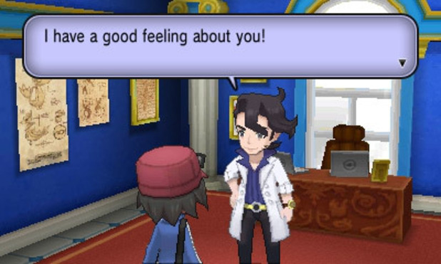 Pokemon X and Y: Professor Sycamore
