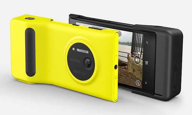 Nokia Lumia 1020 with Camera Grip