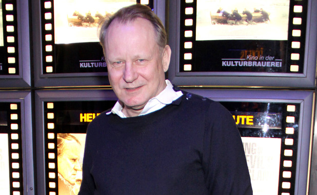 Stellan Skarsgård photographed in October 2012