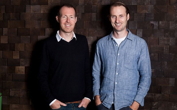 Last.fm founders Martin Stiksel and Felix Miller