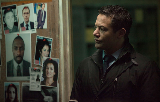 DS Justin Ripley  (Warren Brown) in 'Luther' episode two