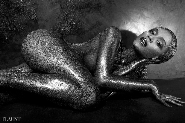 Beyoncé Flaunt magazine shoot.