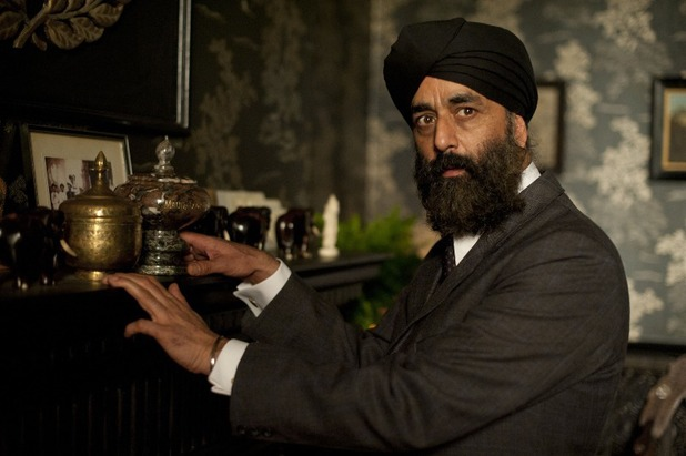 Art Malik in 'Upstairs Downstairs'
