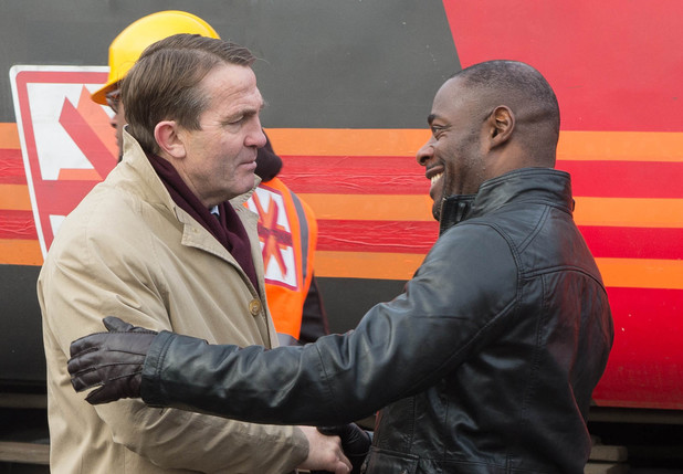 DS Ronnie Brooks (Bradley Walsh) & DI Wes Layton (Paterson Joseph) in 'Law & Order: UK'