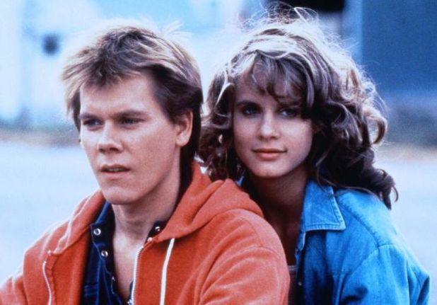 Kevin Bacon and Lori Singer in 'Footloose'