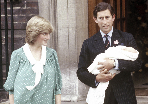 Newborn Prince William