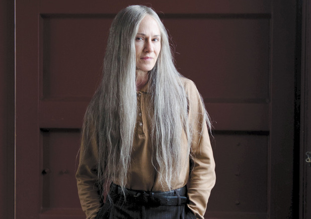 Holly Hunter as G.J. in 'Top Of The Lake' episode 1