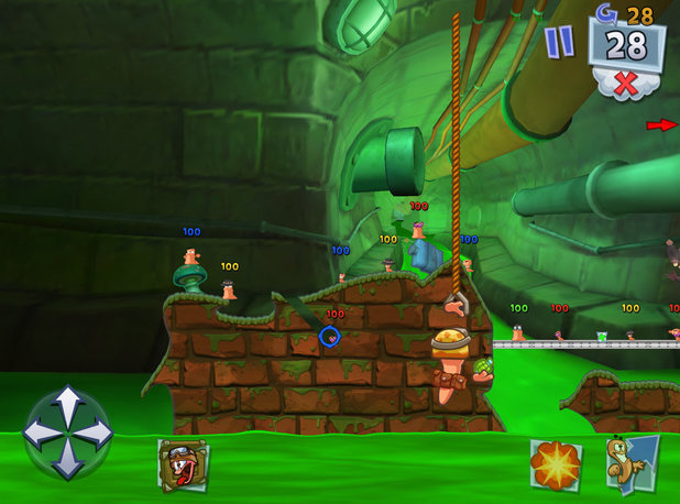 Worms 3 for iPhone and iPad