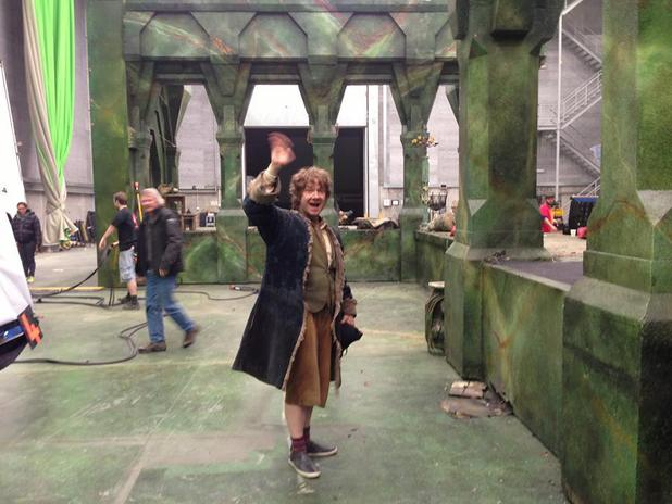 Martin Freeman wraps shooting on 'The Hobbit' trilogy