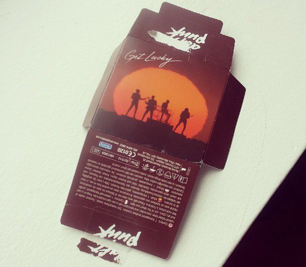 Daft Punk team up with Durex for 'Get Lucky' condoms