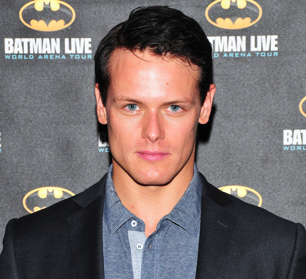 Sam Heughan at the 'Batman Live' photocall in Las Vegas, August 2012
