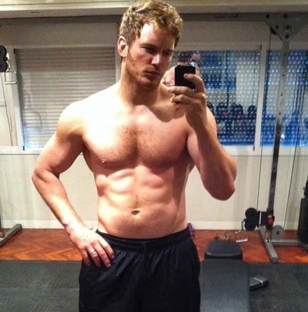 Chris Pratt shares 'Guardians of the Galaxy' physique