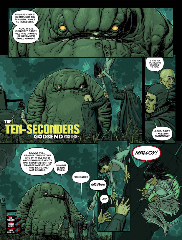 The Ten-Seconders 'Godsend' Part 3
