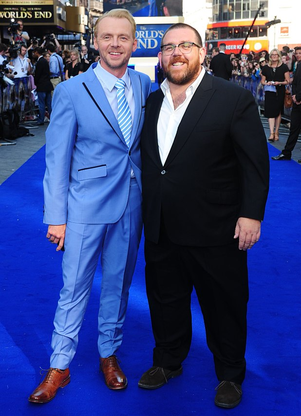 The World's End premiere