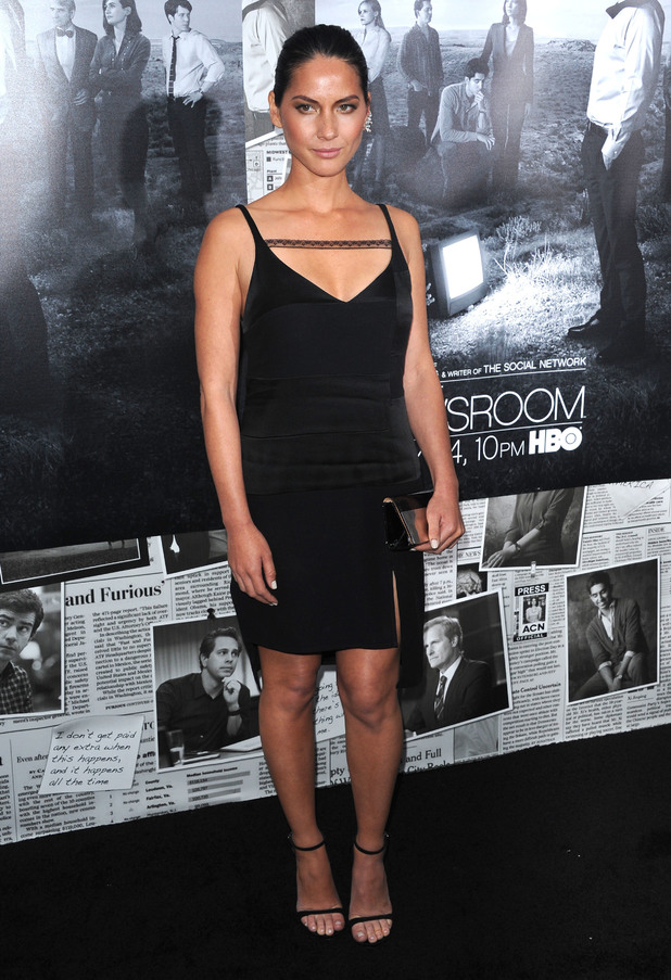 Olivia Munn, Premiere of HBO's 'The Newsroom' Season 2, New York