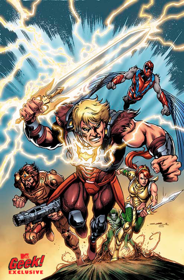 'He-Man and the Masters of the Universe' #7 artwork